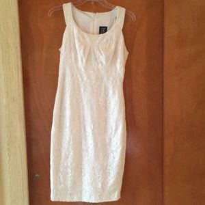 Jax white lace dress